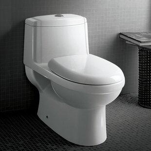 Platinum Anna Dual-Flush Elongated One-Piece Toilet (Seat Included) ByAriel Bath