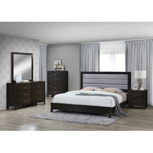 Vandermark Panel 6 Piece Bedroom Set
