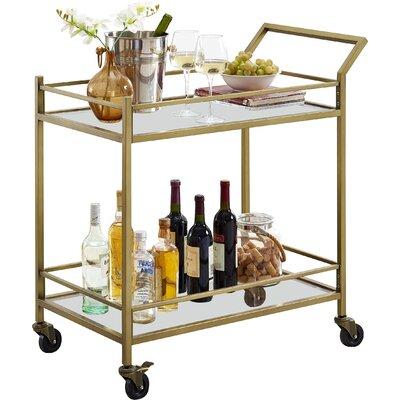 Birch Lane™ Heritage Chesterfield Bar Cart