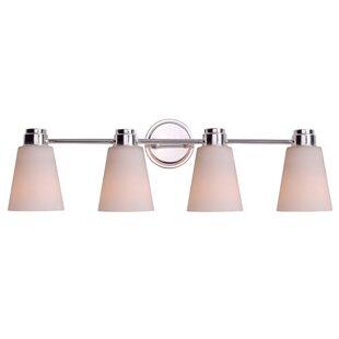 Wildon Home ® Rockdale 4-Light Vanity Light