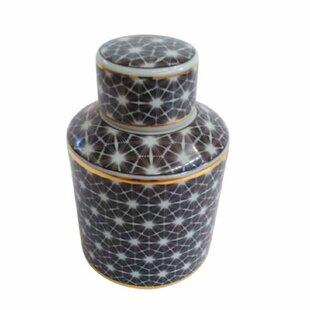Splendid Ceramic Covered Storage Jar