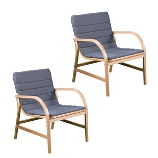 Ivy Bronx Hagedorn Patio Chair with Cushi..