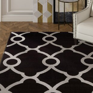 Brookdale Modern Gray/Black Indoor/Outdoor Area Rug