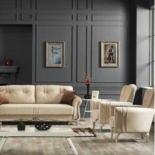 Southwell 4 Piece Sleeper Living Room Set by Rosdorf Park