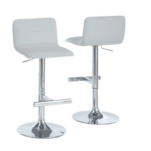 25 Adjustable Height Swivel Bar Stool (Set of 2) by Monarch Specialties Inc.