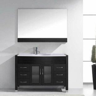 Frausto 47 Single Bathroom Vanity Set with Mirror by Brayden Studio