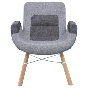 Milwood Block Armchair by LeisureMod