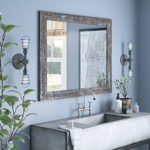 Change Old Vanity Mirror With New Williston Forge Edmonia Iron Age Oxidized Bathroom Vanity Mirror And Save More On