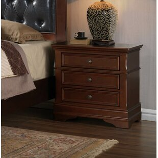 Barcroft 2 Drawer Nightstand by Fleur De Lis Living