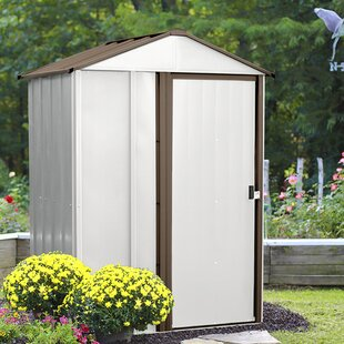 Newburgh 5 Ft. W X 4 Ft. D Metal Vertical Storage Shed By Arrow