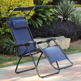 Seagirt Folding Zero Gravity Chair by Red Barrel Studio