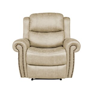 Brookside Manual Wall Hugger Recliner by Canora Grey