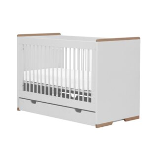 Convertible Toddler Bed With Drawer By Selsey Living