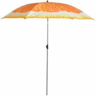 Orange 1.84m Beach Parasol Image