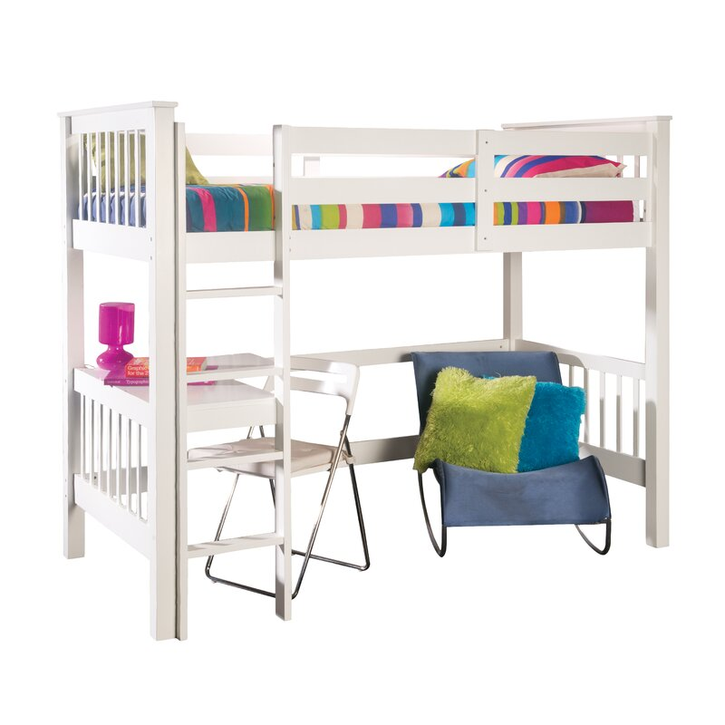 Holbrook High Sleeper Bed with Built-In Desk