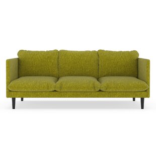 Rodriques Pebble Weave Sofa by Brayden Studio