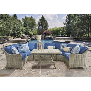 Hyde Park Patio Sectional by South Sea Rattan