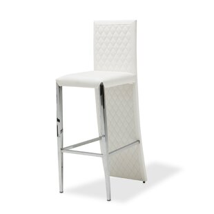 State St. Diamond Tufted Bar Stool Michael Amini