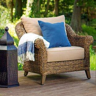 Blue Oak Outdoor Bahamas Patio Chair with Cushion
