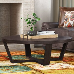 Two Harps Coffee Table by Red Barrel S..