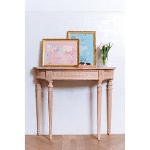 Camille Raw Console Table