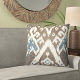 Maddux Ikat Luxury Indoor/Outdoor Lumbar Pillow