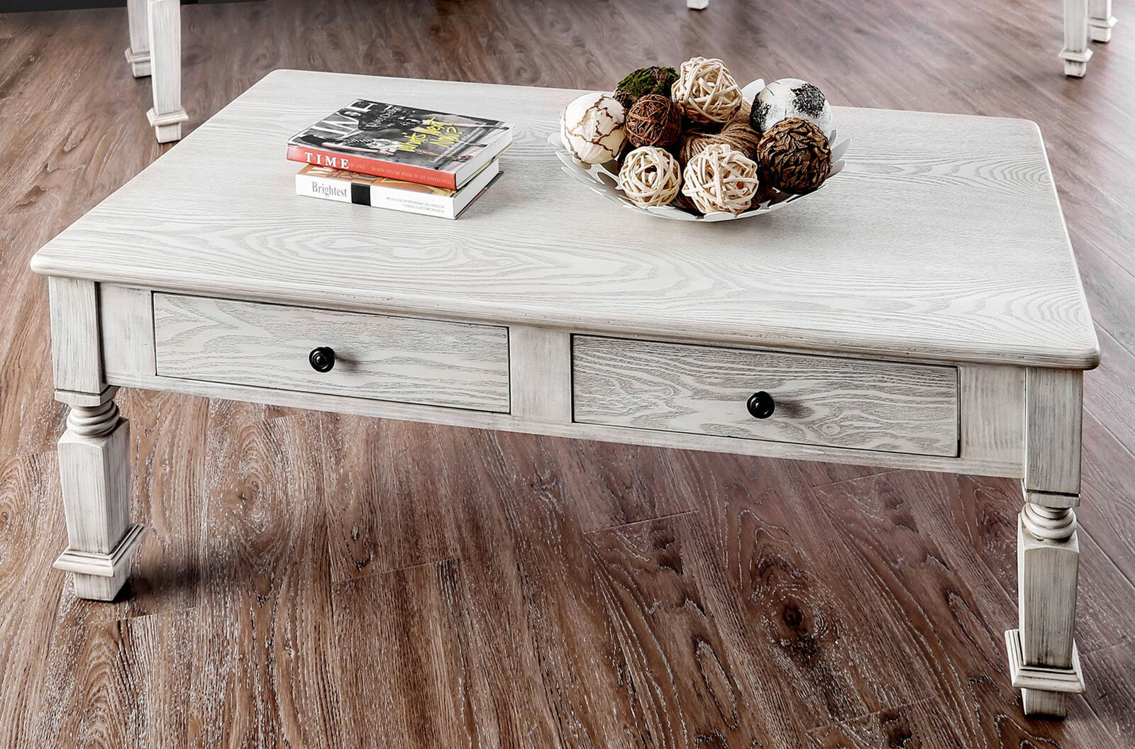thaxted coffee table with storage