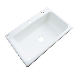 Wilmington 33 inch  L x 22 inch  W Kitchen Sink