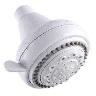 LDR White 5 Function Shower Head
