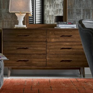 Julesburg 6 Drawer Double Dresser by Trent Austin Design