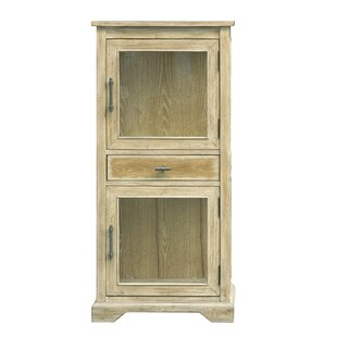 Riendeau Glass 2 Door Accent Cabinet by August Grove