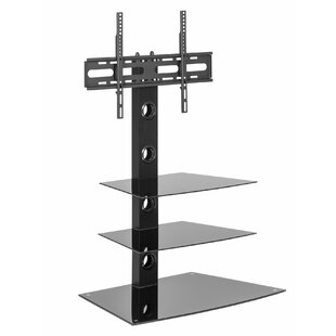 Barlow Glass Cantilever TV Stand For TVs Up To 55