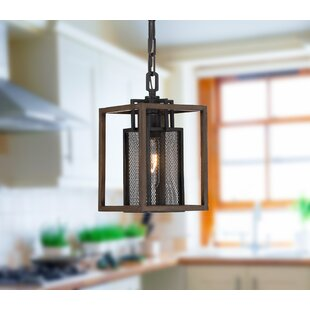 Minor 1-Light Foyer Pendant by Union Rustic