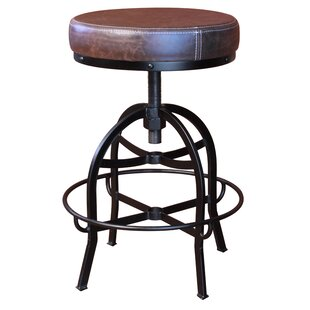 Gympie Adjustable Swivel Bar Stool by Williston Forge