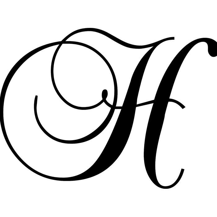 H Letter Images.Letter H Wall Decal