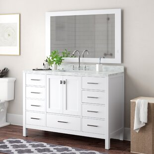 Check Prices Middletown 54 Single Bathroom Vanity Set with Mirror ByAndover Mills