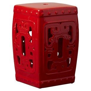 Best Price Talia Ceramic Garden Stool