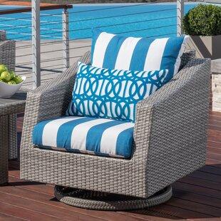 Wade Logan Castelli Club Chair with Cushions (Set of 2)