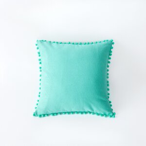 Terrence Pompom Decorative Throw Pillow