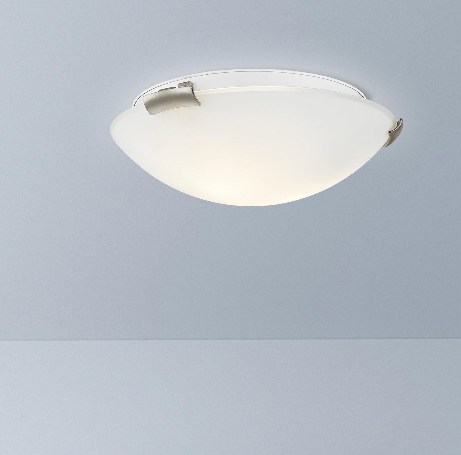 Ebern Designs Davis Flush Mount | Wayfair