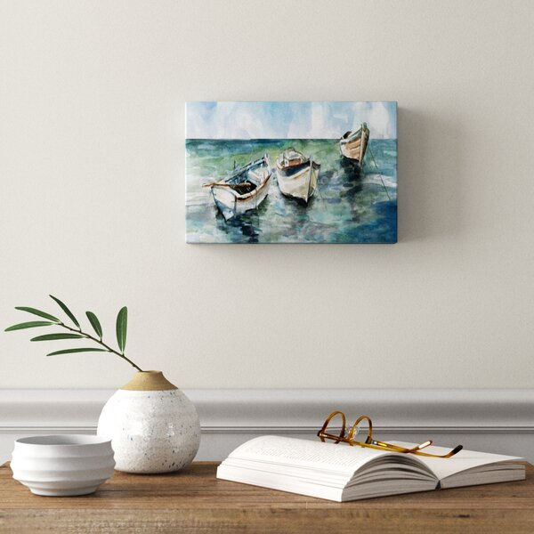 Caught At Low Tide Ii Print On Canvas Reviews Joss Main