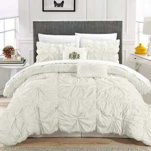 Floressa Floral Pinch 10 Piece Comforter Set by Willa Arlo Interiors