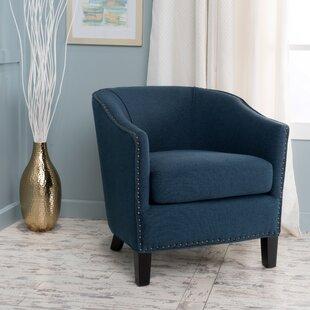 Price comparison Ahearn Barrel Chair by Fleur De Lis Living