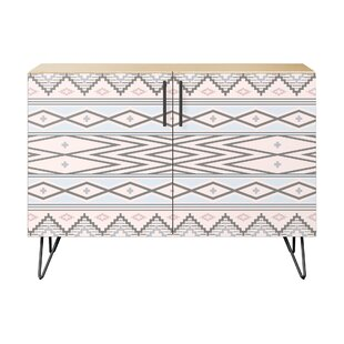 Lydia 2 Door Cabinet by Bungalow Rose