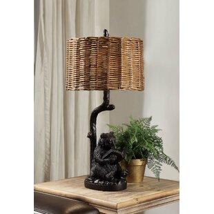 Hardeman Bear Knowledge 34'' Table Lamp