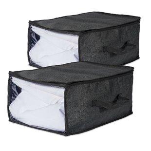 Rebrilliant Soft Fabric Underbed Storage (Set of 2)