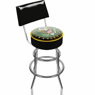U.S. Army 31 Swivel Bar Stool Trademark Global