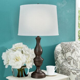 Affordable Castle Heights 27.5 Table Lamp By Charlton Home