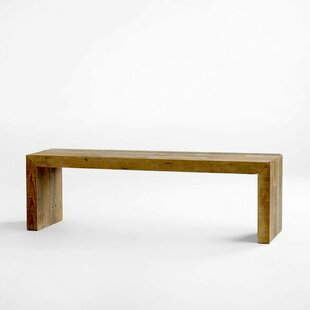 Amesville Reclaimed Wood Bench by Foundry..