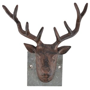 Deer on Slate Wall Decor